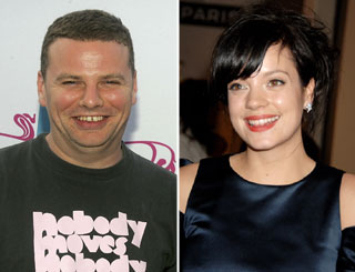 Lily Allen pregnant with her first child