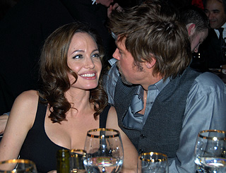 Angelina and Brad attend Critics Choice ceremony