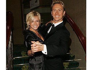 Zoe Ball 'fesses up to being dance heavyweight