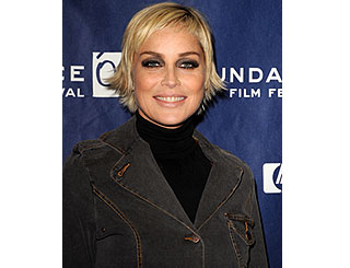 New look for Sharon at Sundance Film Fest