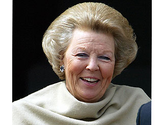 Queen Beatrix celebrates 70th birthday