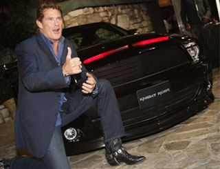 David gets reacquainted with supercar Kitt