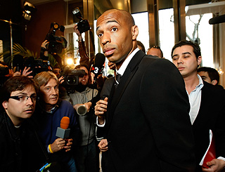 Footballer Thierry Henry reveals his true goals