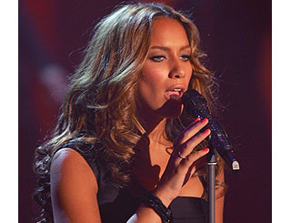 Leona Lewis visits South Africa for Sport Relief