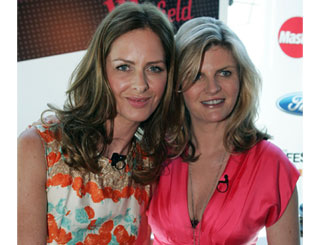Trinny and Susannah launch Oz tour