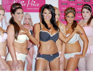 Katie Price launches new lingerie collection