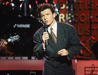 Eighties sensation Rick Astley is an online star