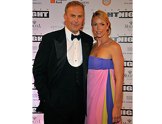 Kevin Costner joins the fight for charity