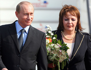 Russian President dismisses divorce reports