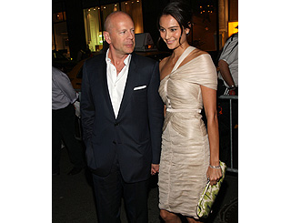 Lovestruck Bruce steps out to Tribeca with Emma