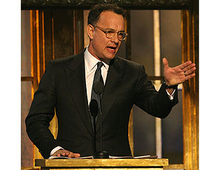 Tom Hanks to auction role in star-studded play
