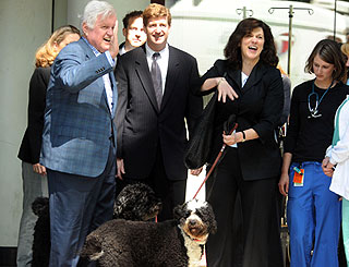 Ted Kennedy diagnosed with brain tumour