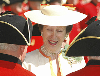 Princess Anne visits the Royal Hospital Chelsea