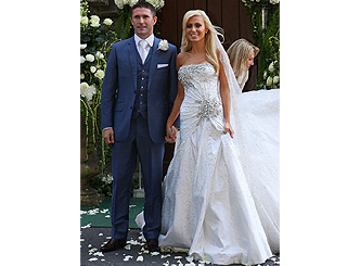 Robbie Keene marries his sweetheart Claudine Palmer
