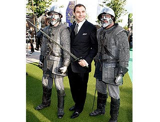 David Walliams gets armed escort to screening