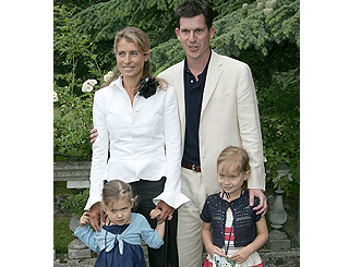Tim Henman takes his family out for an ace time