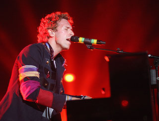Coldplay score first UK number one