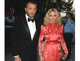 "Madonna ""comitted"" to Guy says her brother"