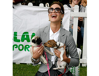 Dog-lover Trinny Woodall includes her pooch in will