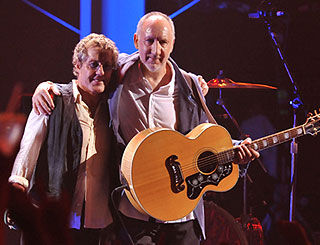 The Who's Roger and Pete remember missing friends