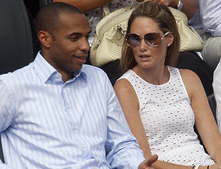 Thierry Henry faces £10 million divorce claim