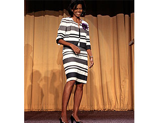 Barack Obama's wife hailed as world's best-dressed