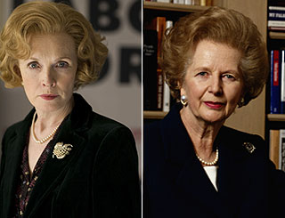 Lindsay Duncan a ringer for PM Thatcher in new role