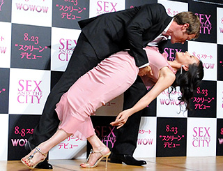 Hollywood moment as Sex And The City hits Japan