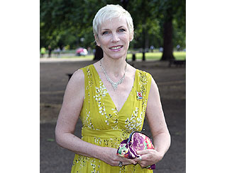 Annie Lennox recovering after spinal surgery