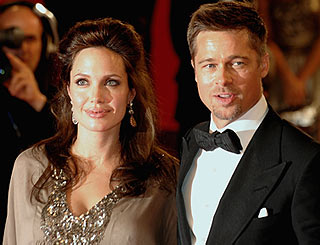 Brad and Angelina to host party for French locals