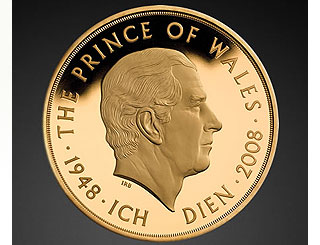 Commemorative coin to mark Prince of Wales' 60th
