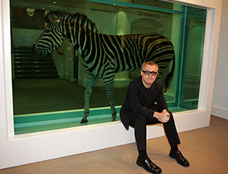 Damian Hirst sale breaks art auction record at £70.5m