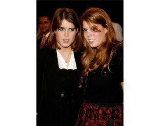 Eugenie and Beatrice catch up in Knightsbridge