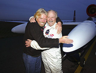 Richard Branson pays tribute to pal Steve Fossett