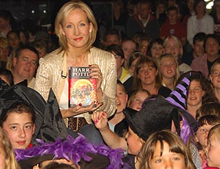 JK Rowling's earnings top £3m a week