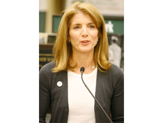 Caroline Kennedy tipped as ambassador to Vatican