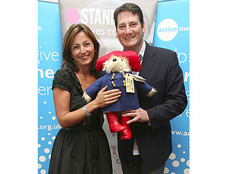 Davina and Tony Hadley support kiddies charity