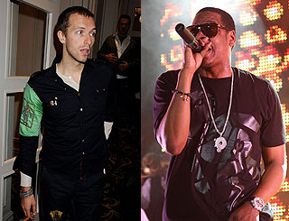 Jay-Z collaboration keeps Chris Martin on the go