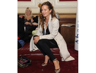 Jade Jagger enjoys night of French cinema