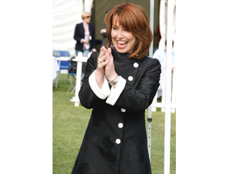 Kay Burley collapses on set