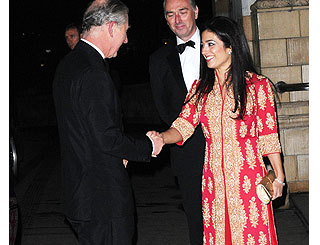 Charles and Princess Badiya fete Muslim talent