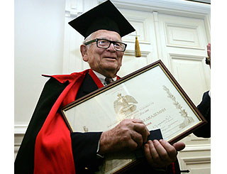 Pierre Cardin awarded Russian honour