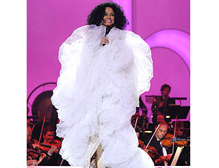 Diana Ross rolls back the years at Nobel gig