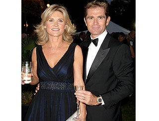 Anthea Turner and husband hit hard by credit crunch