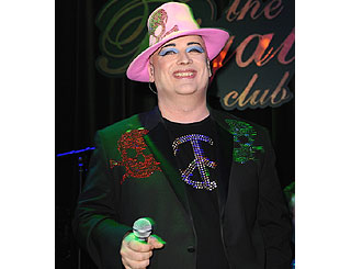 Boy George back on London stage