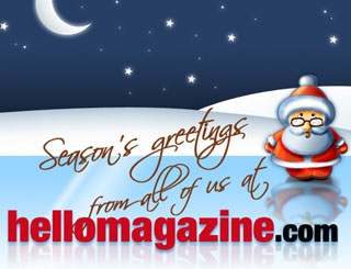 Merry Christmas from hellomagazine.com!
