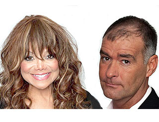 La Toya Jackson and Tommy Sheridan leave Celebrity Big Brother