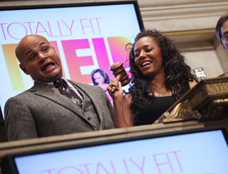 Mel B brings Dow Jones to standstill