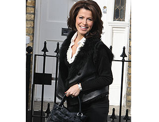 Natasha Kaplinsky returns to Five after maternity leave