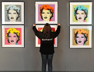 Banksy's Kate Moss paintings fail to sell at auction